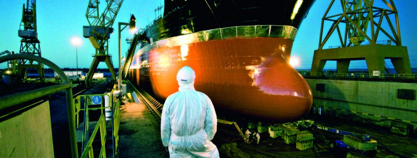 Commercial antifouling hull coatings increase efficiency across coating process and reduce fuel consumption