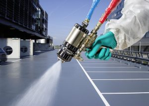 paints and coatings jobs with a spray gun