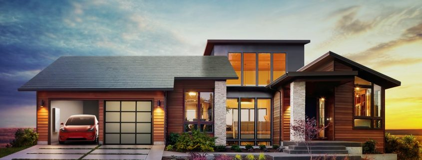 Tesla solar tile coating