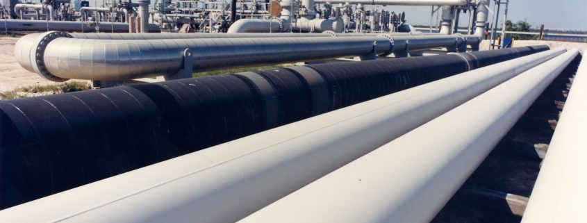 heat resistant coating for metal applied on steel pipe