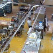 Anti slip surface for factory flooring