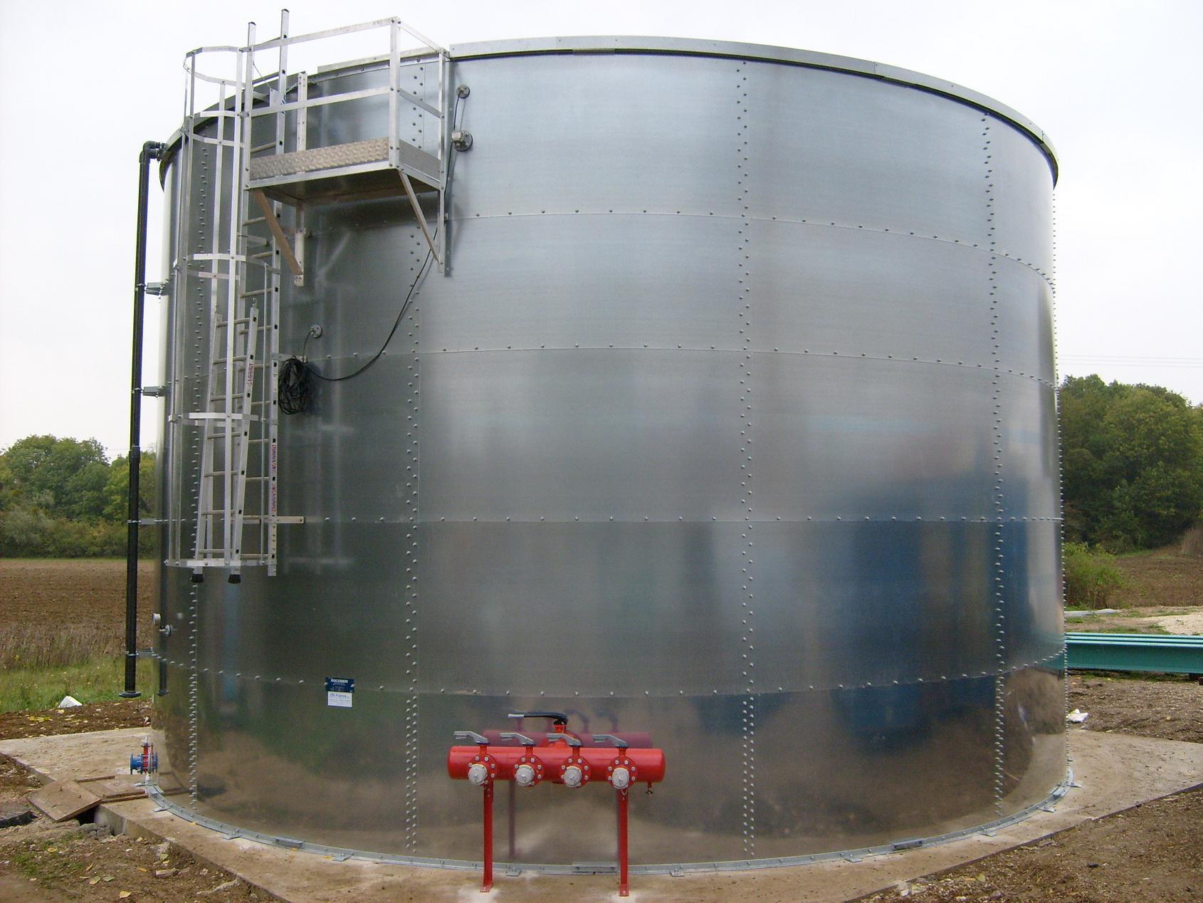 Water tank linings coating