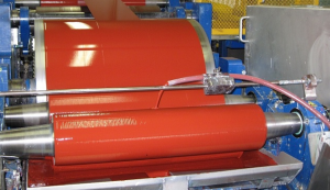 Coil coating is a continuous and automated process.