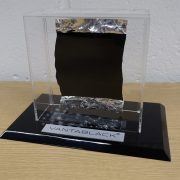 Vantablack paint sample for classrooms and museums