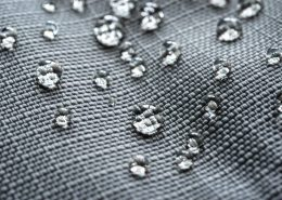 Nano coating on textile