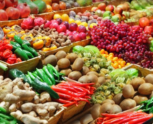 vegetables with seed coating