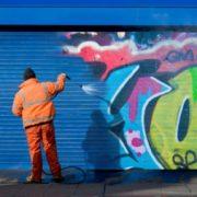 anti graffiti paint for metal