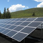 Solar panel coating protects solar panels in all weather conditions.