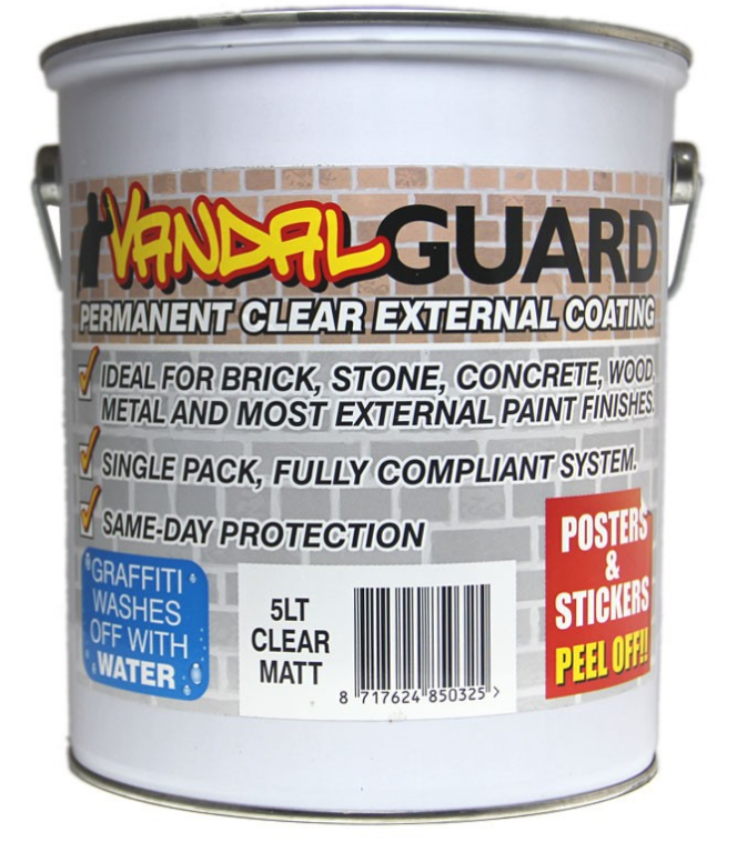 Vandal guard anti graffiti for wood