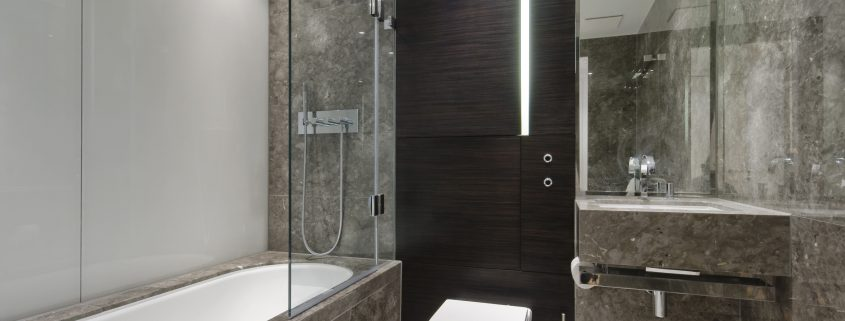 sealants and adhesives in a bathroom