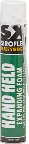 Siroflex hand held polyurethane foam container