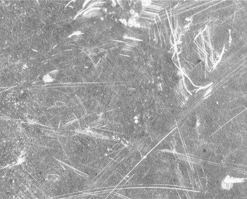 self healing coating on damaged surface