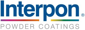 Logo of powder coating manufacture interpon