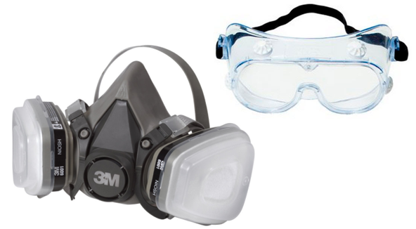 Powder coating masks