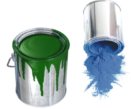 powder coating vs. painting