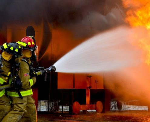 fireproof paint has given firefighters more time to arrive