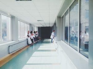 Hospital-hallway-hygienic-allergy-free