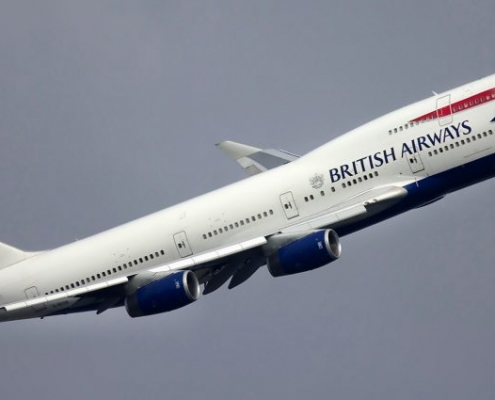 aerospace coatings on british airways aircraft