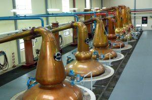 seamless hygiene coatings in distillery