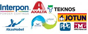Coating logo's