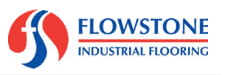 Logo of Flowstone Industrial Flooring, garage floor painting service