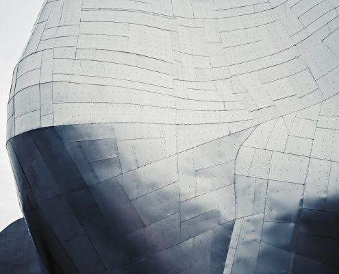 Aluminium exterior with aluminium coating
