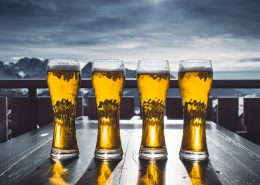 DPBR coating protects against beer spills