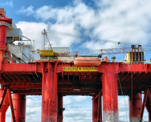 Powder coating offshore plants increases durability