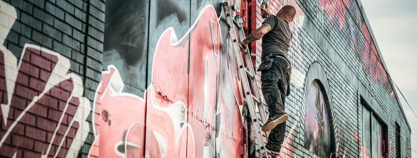 graffiti removal will follow shortly after applying graffiti