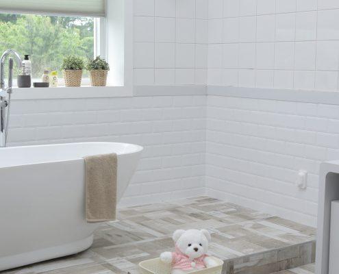 Blackfriar Fungi Shield anti bacterial paint in a bathroom