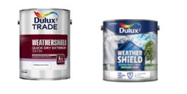 dulux trade paint tin and dulux DIY paint tin