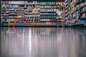 commercial floor coating systems in a shop
