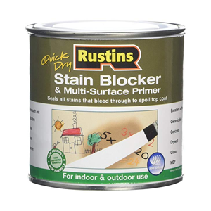 Rustins stain blocker and multi surface primer