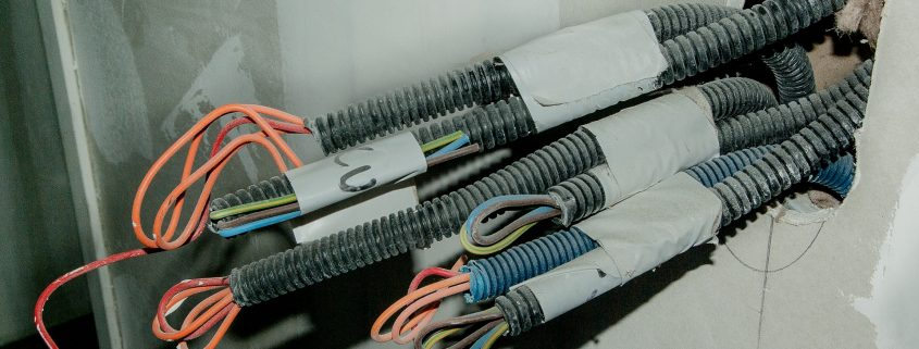 non conductive paint insulating cables