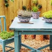 garden table and chair made art with the best outdoor paint for wood