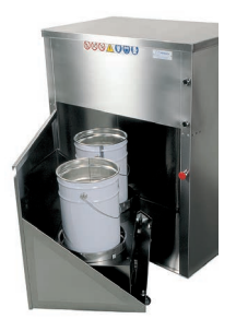paint waste container as industrial coating equipment