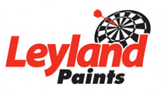 leyland paints' logo by ppg industries