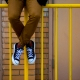 anti climb paint on yellow fence
