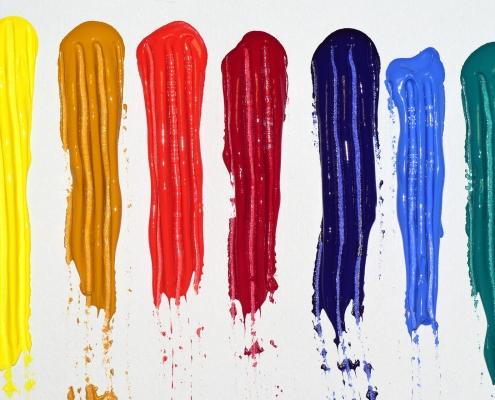 colour measurement instrument distinguishes between colours