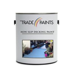 Non slip paint for wood
