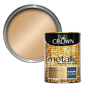 crown striking metallic wall paint