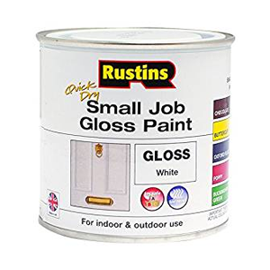 Gloss paint for wood