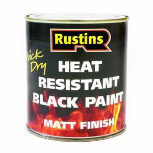 Heat resistant stove paint