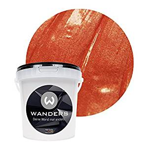 Wanders metallic wall paint