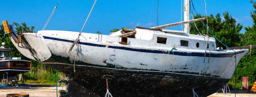 How to remove antifouling without losing your mind