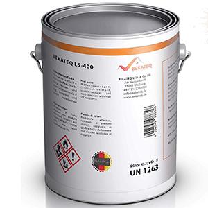 BEKATEQ LS-400 Swimming Pool Paint for Concrete Pool White, 2,5L