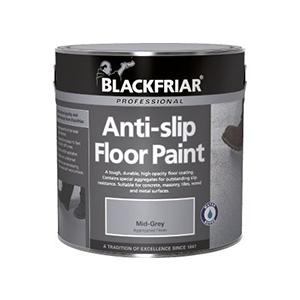 Blackfriar Anti Slip Floor Paint 1 Litre Mid Grey indoor + outdoor