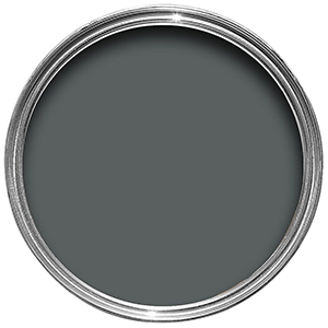 A smoky dark grey paint for your walls