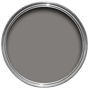 A rich and warm grey paint for your walls