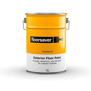 Floorsaver Exterior Floor Paint 5 Litre Mid Grey water-based acrylic outdoor